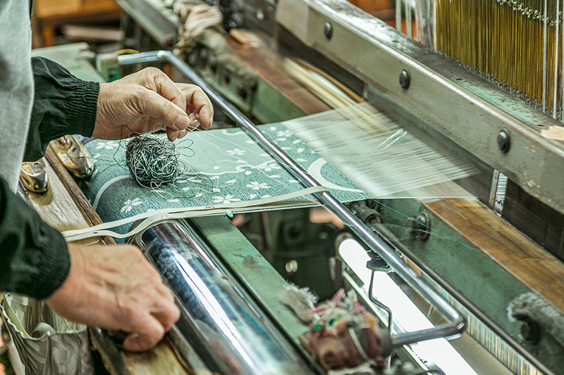 和紙織の製造工程